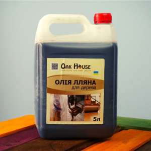 лляна олія для дерева