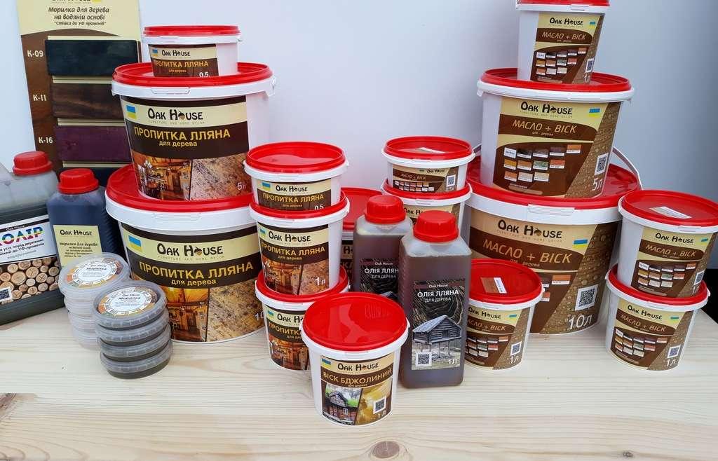 Масло – віск для захисту деревини